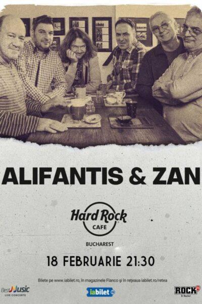Poster eveniment Nicu Alifantis & ZAN