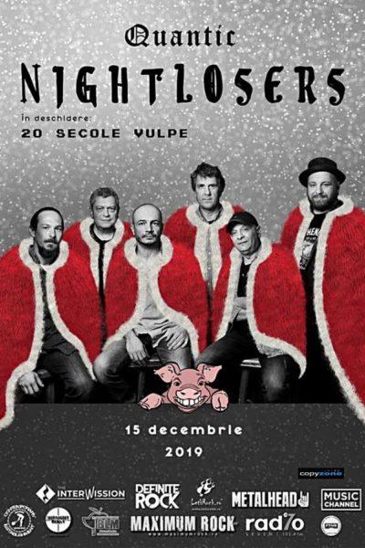 Poster eveniment Nightlosers / 20 Secole Vulpe