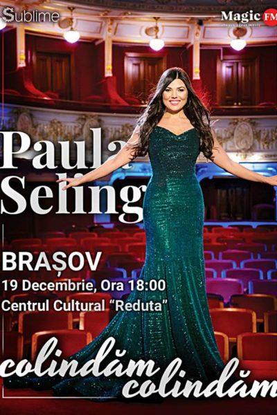Poster eveniment Paula Seling - Colindăm, Colindăm