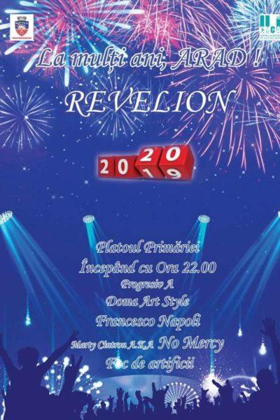 Poster eveniment Revelion 2020 Arad