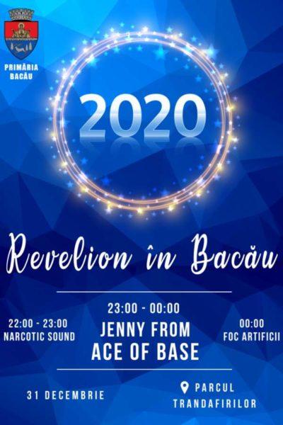 Poster eveniment Revelion 2020 în Bacău