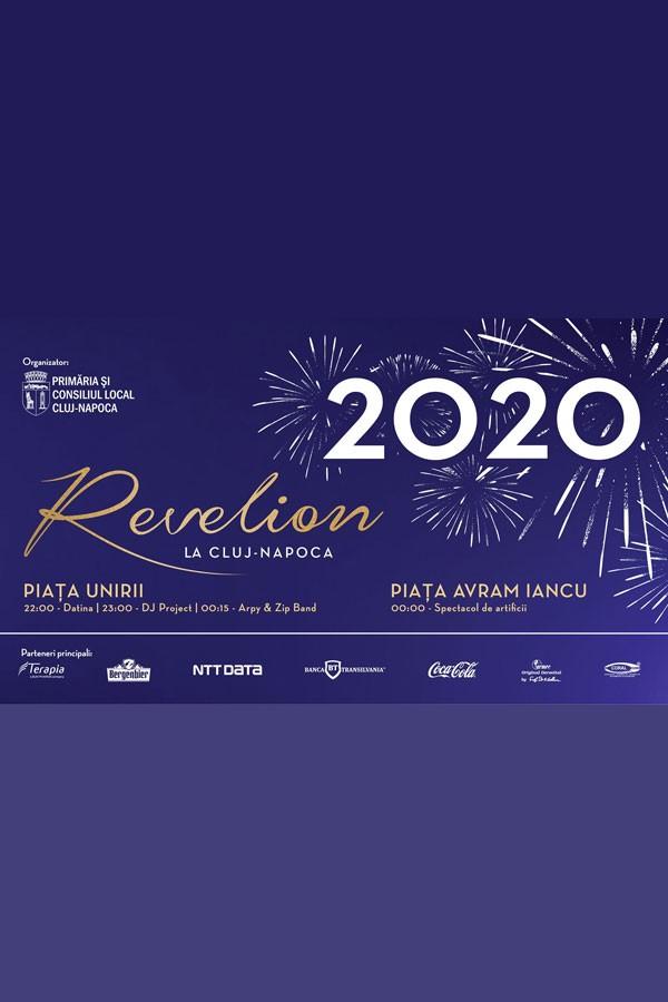 Revelion 2020 Cluj-Napoca la Piața Unirii din Cluj