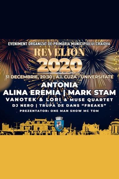 Poster eveniment Revelion 2020 Craiova