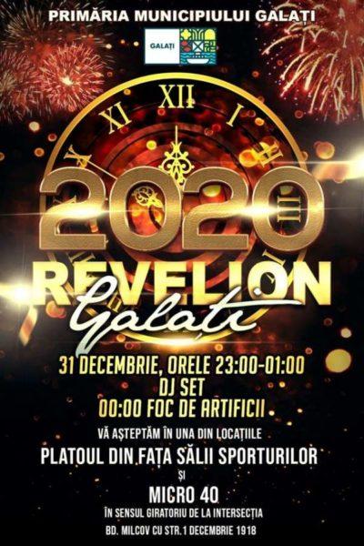 Poster eveniment Revelion 2020 Galați