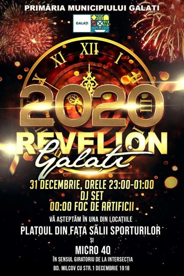 Revelion 2020 Galați la