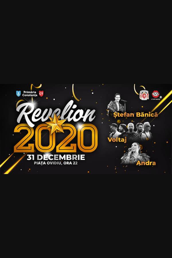 Revelion Constanța 2020 la Piața Ovidiu