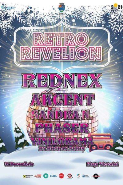 Poster eveniment Retro Revelion 2020