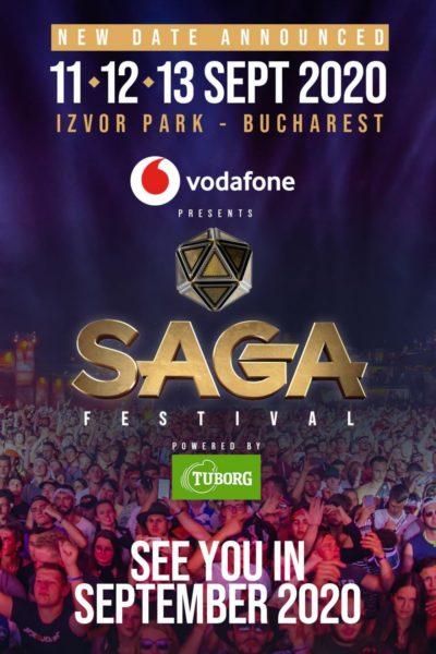 Poster eveniment SAGA Festival 2020