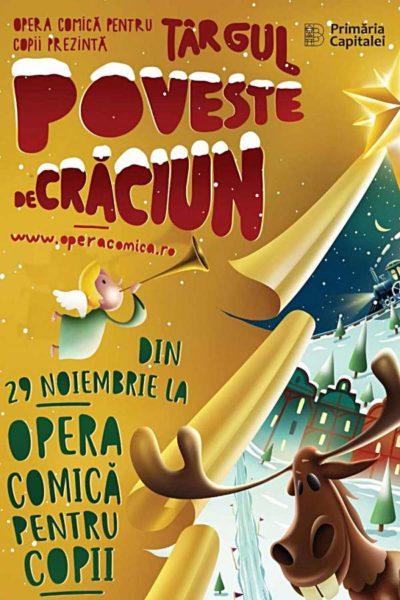 """Poster eveniment Târgul \""""Poveste de Crăciun\"""" 2019"""