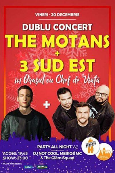 Poster eveniment The Motans + 3 Sud Est