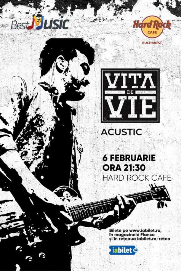 Vița de Vie - Acustic la Hard Rock Cafe