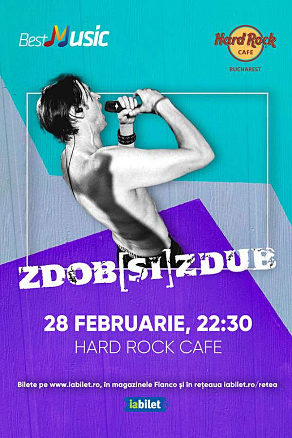 Zdob și Zdub la Hard Rock Cafe