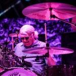 Ian Paice, toboșarul Deep Purple în concert la Cluj-Napoca pe 10 decembrie 2019