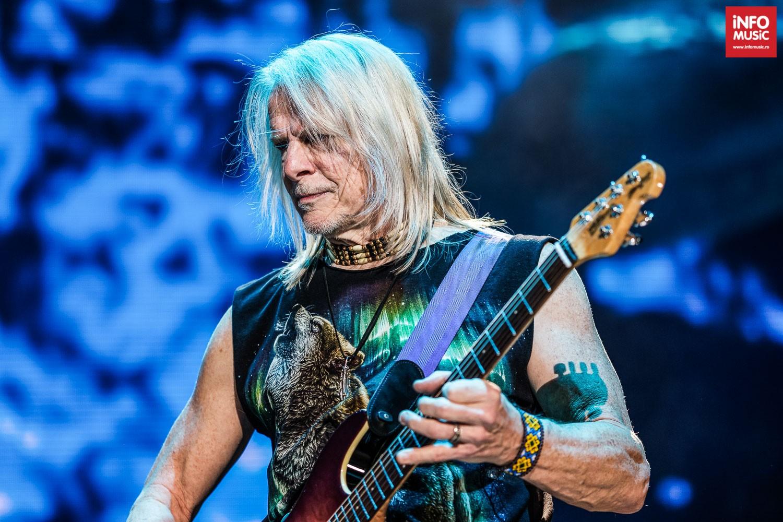Steve Morse, chitaristul Deep Purple în concert la Cluj-Napoca pe 10 decembrie 2019