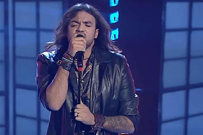Dragoș Moldovan în prima ediție live Vocea României 2019