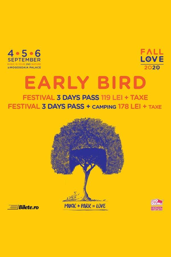 Fall in Love Festival 2020 la Palatul Mogoșoaia