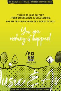 Form Days - Music & Arts Festival 2021