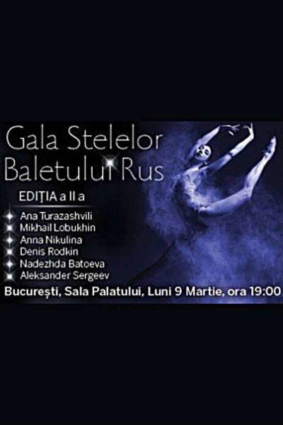 Poster eveniment Gala Stelelor Baletului Rus