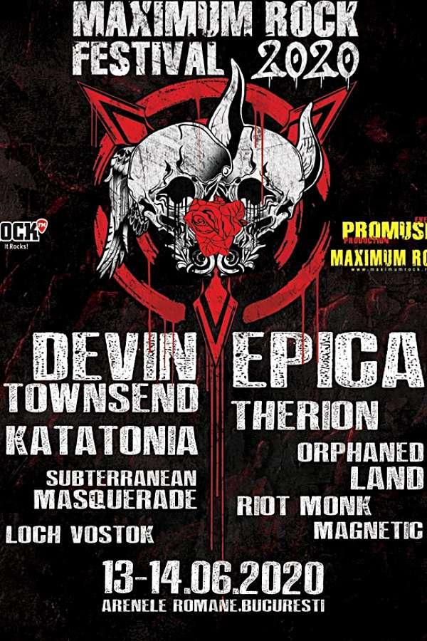 Maximum Rock Festival 2020 la Arenele Romane