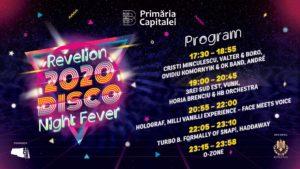Programul concertelor de la REVELION 2020 din Piața Constituției