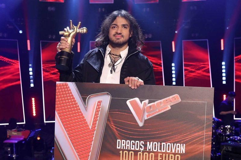 Dragoș Moldovan, câștigătorul Vocea României 2019