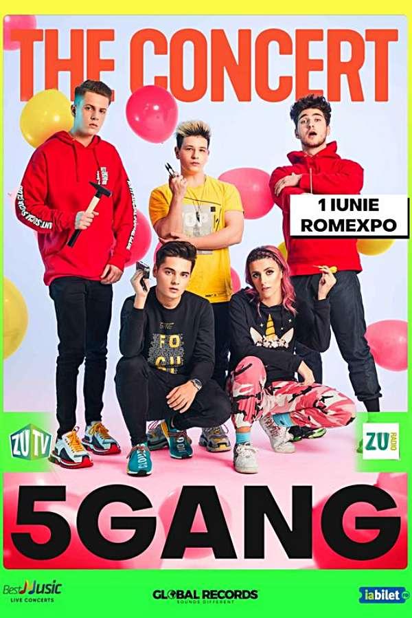 5GANG la Romexpo