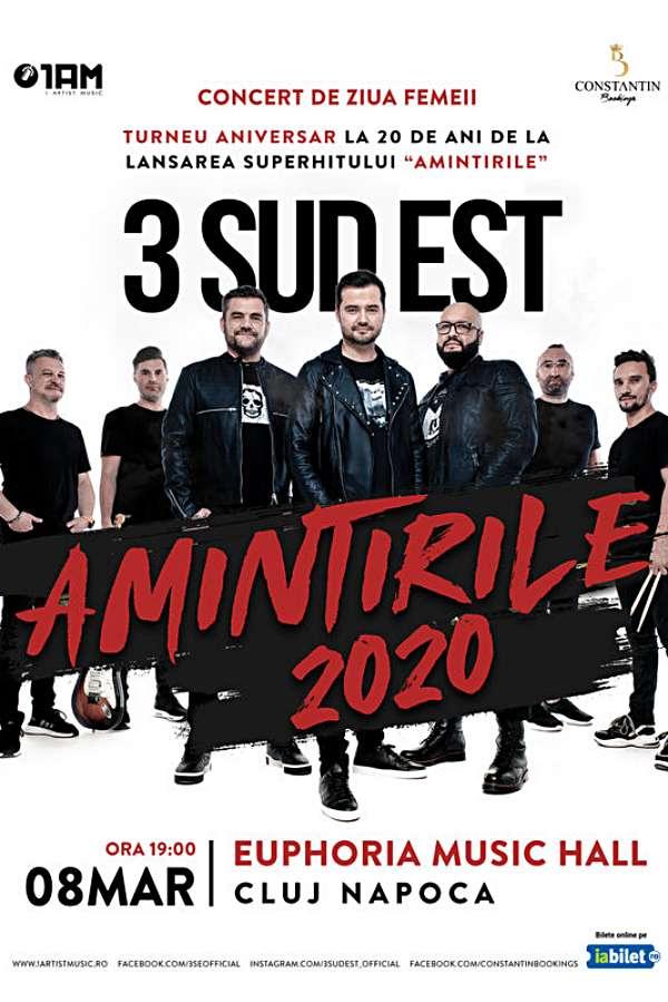 3 Sud Est - Amintirile 2020 la Euphoria Music Hall