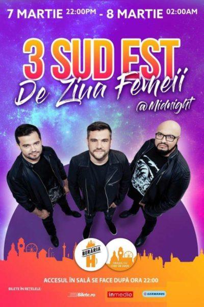 Poster eveniment 3 Sud Est de Ziua Femeii