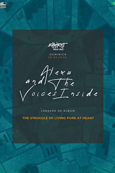 Poster eveniment Alexu and the Voices Inside - lansare album