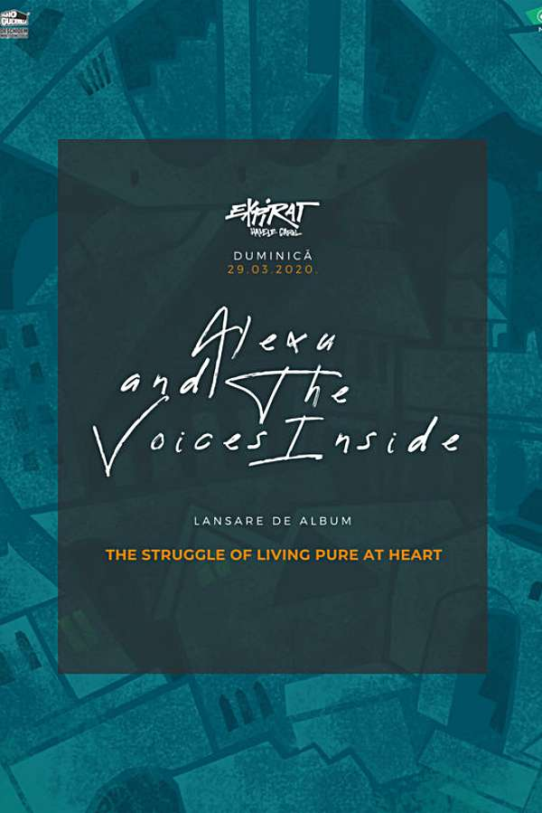 Alexu and the Voices Inside - lansare album la Expirat Club