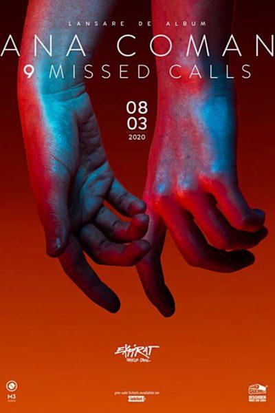 Poster eveniment Ana Coman - lansare album