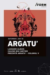 Argatu' - lansare album