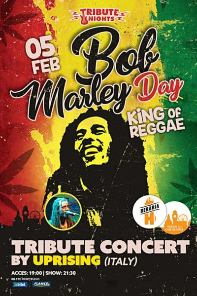 Poster eveniment Bob Marley Day