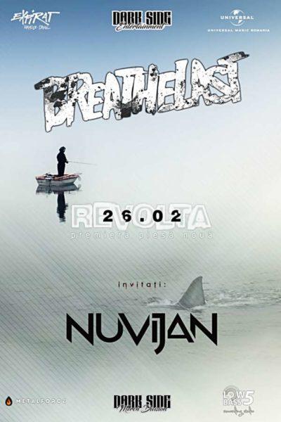 Poster eveniment Breathelast - lansare single