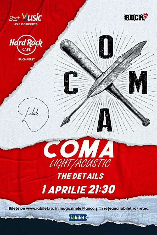 Coma - Light la Hard Rock Cafe