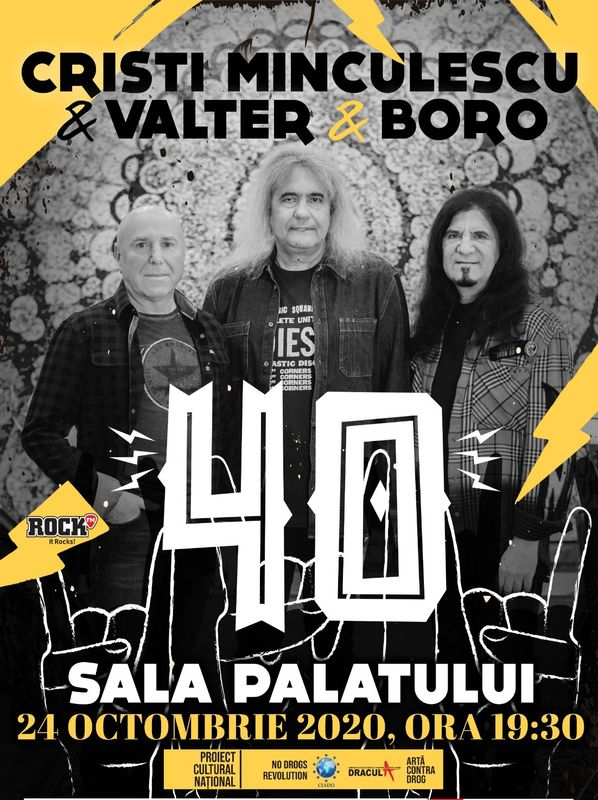 Cristi Minculescu & Valter & Boro la Sala Palatului