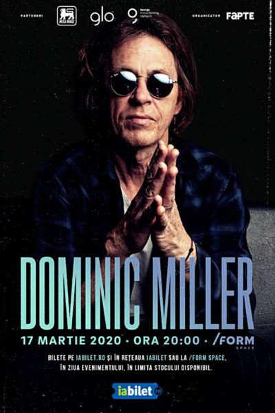 Poster eveniment Dominic Miller