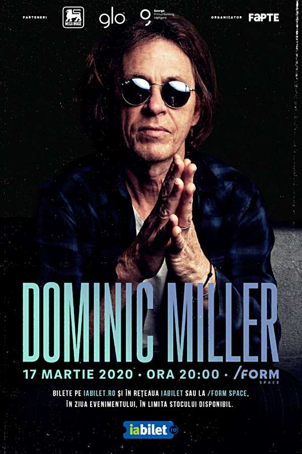Dominic Miller la Form Space Club