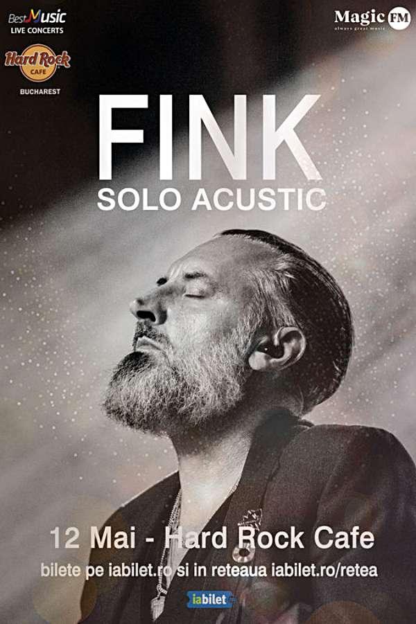 FINK la Hard Rock Cafe