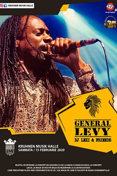 Poster eveniment General Levy