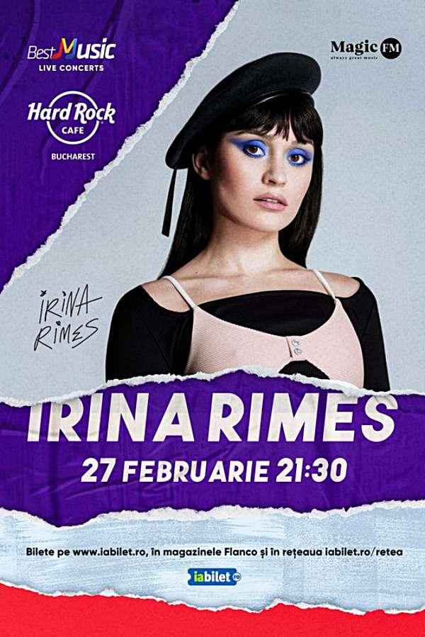 Irina Rimes la Hard Rock Cafe
