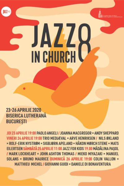 Poster eveniment Jazz in Church 2020
