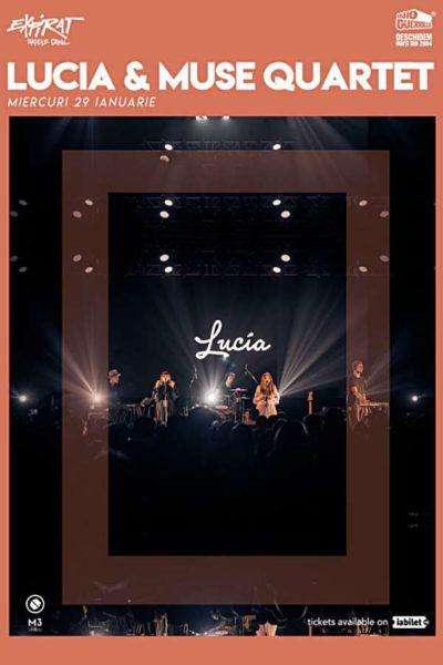 Poster eveniment Lucia & Muse Quartet