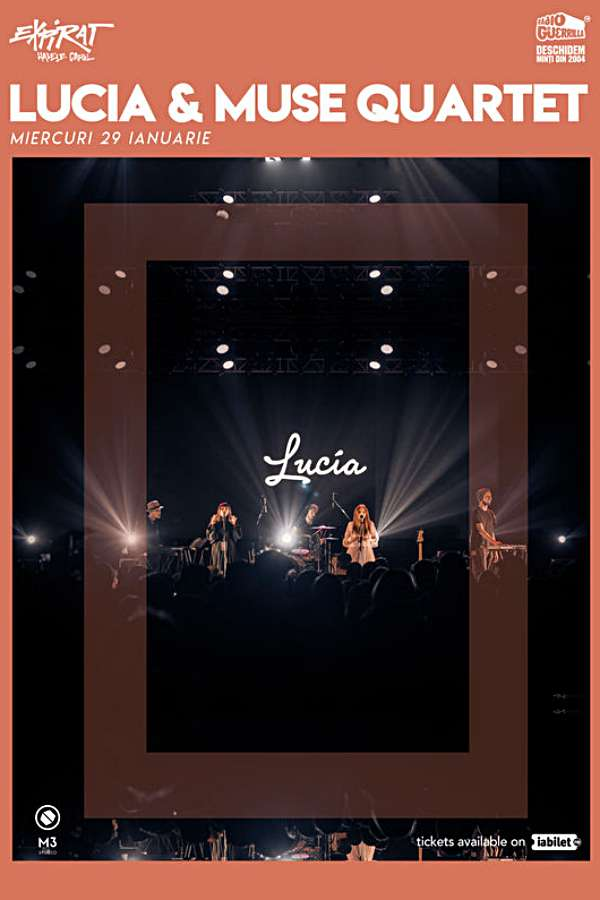 Lucia & Muse Quartet la Expirat Club