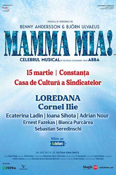 Poster eveniment Mamma Mia