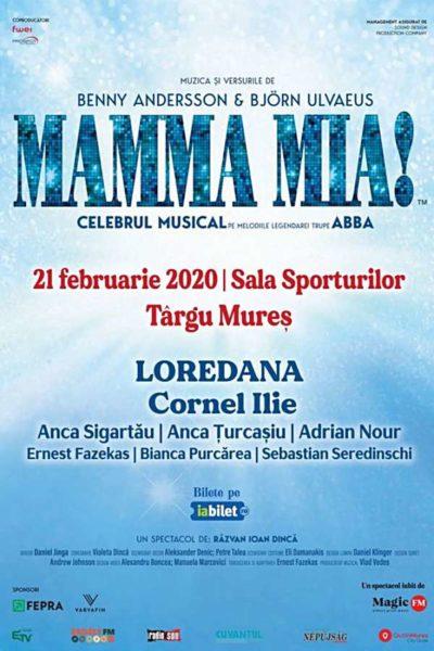 Poster eveniment Mamma Mia - ANULAT