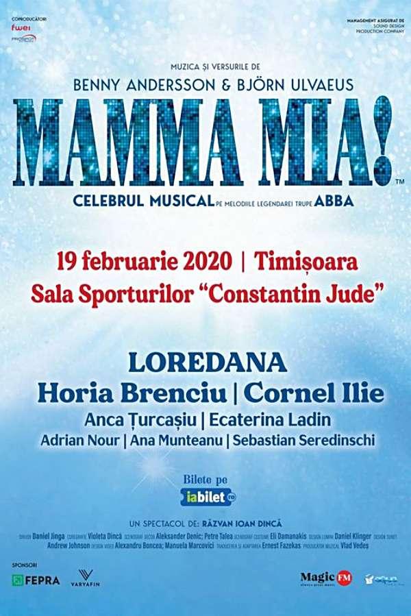 Mamma Mia la Sala Sporturilor