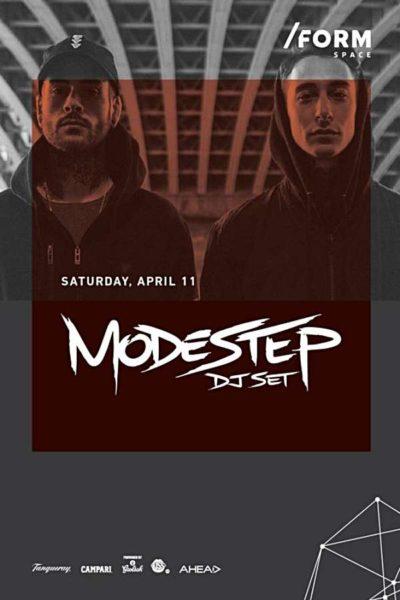 Poster eveniment Modestep
