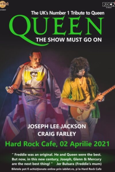 Poster eveniment Tribut Queen - The Show Must Go On