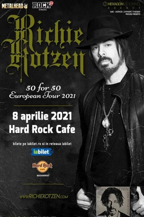 Richie Kotzen: 50 for 50 la Hard Rock Cafe